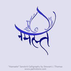 Namaste Sanskrit Devanagari | Hindi | Gujarati |