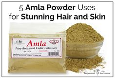 Amla powder, a nourishing Ayurvedic herb, is a powerful and simple DIY beauty treatment. Here are 5 ways to use amla powder for hair and skin.
