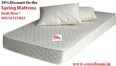 **Special Diwali Discounts ** 30% Discount on the mattress. Grab Now ! For further information please call : 09310121861or visit us:-  http://www.cocofoam.in