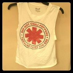 Red Hot Chili Peppers Nice band tank. Good for music festival wear! Bravado Tops Tank Tops