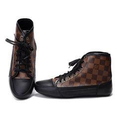 """Louis Vuitton Sneakers Outlet,  Louis Vuitton""""s iconic Damier canvas."""