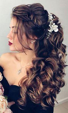 30 Wedding Hairstyles - Romantic Bridal Updos ❤ See more: http://www.weddingforward.com/romantic-bridal-updos-wedding-hairstyles/ #weddings #hairstyles #weddinghairstyles
