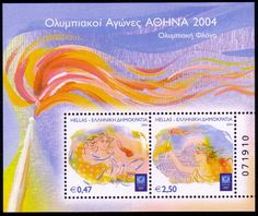 Stamps from Greece 2004 Olympics, Andorra, Summer Dream, Olympic Games, Postage Stamps, Athens, Greece, Posters, Dreams