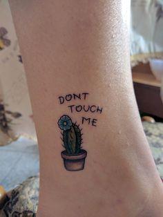 Small Cactus tattoo #evamigtattoos #tattoo