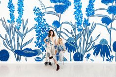 How She She Wallpaper Made a Business Out of Drawing on Walls
