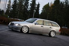 Mercedes Benz W202 Wagon on Carlsson 3/6 02