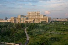 Bucharest, Palace of the Parliament Palace Of The Parliament, Bucharest Romania, Palaces, Willis Tower, Seattle Skyline, San Francisco Skyline, Castles, Real Life, City