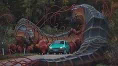 Invasive by Simon Stalenhag