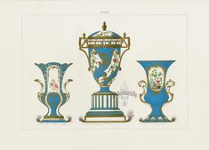 7 das Artes: Modelos das magníficas porcelanas Sèvres.