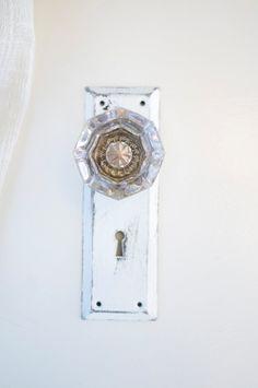 Vintage Crystal Door Knob Curtain Tie Back by eviemethugh on Etsy, $34.00