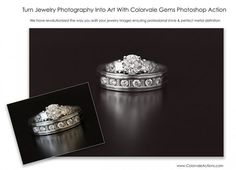 Make Jewelry Sparkle - Photoshop Actions Photoshop Actions For Photographers, Best Photoshop Actions, Photoshop Brushes, Nikon D5200, Background For Photography, Photoshop Photography, Action Photography, Photography Photos, Jewelry Photography