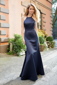Bridesmaid Dresses Weddings & Events Original Navy Sexy Scoop Satin Tank High Low Special Occasion Bridesmaid Dresses Formal Vestidos Wedding Party Dresses