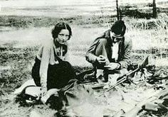 Bonnie and Clyde - Rare photo