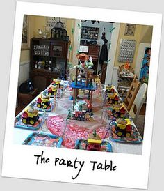 Toy story table setting