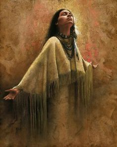 Lee Bogle Into The Light Artist Proof #LeeBogle #NativeAmerican  Into the Light Artist Proof