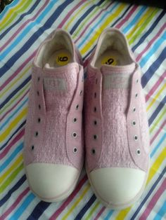 Check out this item in my Etsy shop https://www.etsy.com/listing/167786382/authentic-pink-uggs-hipster-sneakers