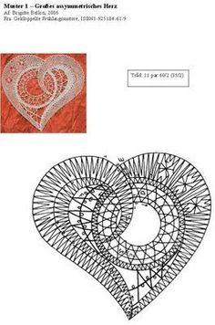 Billedresultat for bobbin lace patterns free Form Crochet, Crochet Diagram, Filet Crochet, Irish Crochet, Scrap Quilt Patterns, Bobbin Lace Patterns, Crochet Flower Patterns, Bobbin Lacemaking, Hand Embroidery Flowers