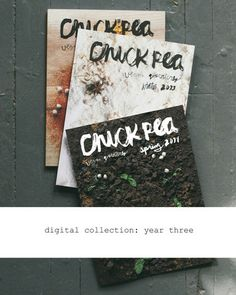 Digital Collection: Year Three – chickpea magazine