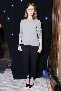 Sofia Coppola - New years eve outfit inspiration.