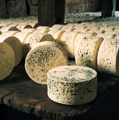 De Bleu des Causses French Cheese // Region : Aquitaine  Midi Pyrénées // Milk : cow // (queso frances)