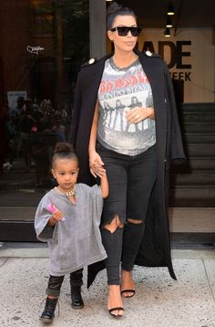 Kim Kardashian has dressed her daughter North West in *the* most bling-tastic accessory...