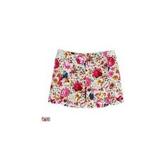 Floral-Patterned Shorts