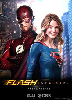 No Spoliers] Supergirl and Flash Fan Poster.Anyone else feeling ...