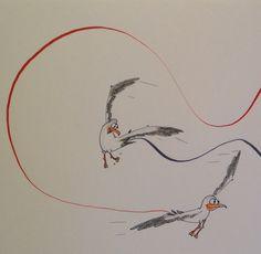 Kjartaniske vers – Flyakrobatikk med fyllepenn på kaia i Langesund – Fyllepenna George Orwell, Cartoon, Engineer Cartoon, Cartoons, Comic