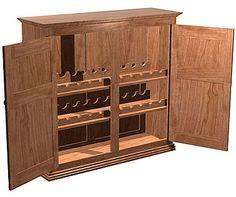how to build a liquor cabinet home furniture design