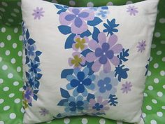 FAB CUSHIION MADE FROM 1970S VINTAGE FABRIC | eBay  only £9.99