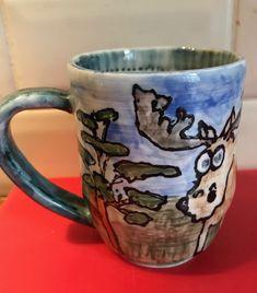 Moose mug for Moose Moose Mug, Bunting, Past, Presents, Mugs, Tableware, Gifts, Garlands, Past Tense