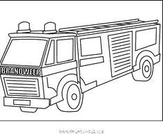 Coloring pages coloring and trucks on pinterest - Finley le camion de pompier ...