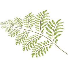 Fern Leaf Stencil~All kinds of stencils
