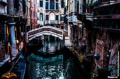 Canale veneziano by PhotoArt by Johnny Antonini Photographer