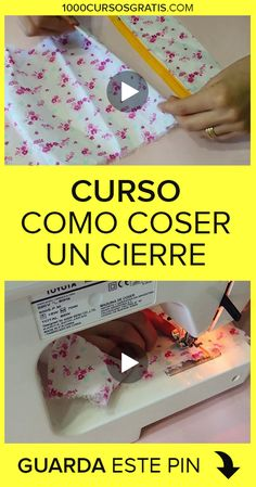 Diy Crafts Videos, Diy And Crafts, Sewing Techniques, Couture, Sewing Hacks, Diy Fashion, Projects To Try, Knitting, Crochet
