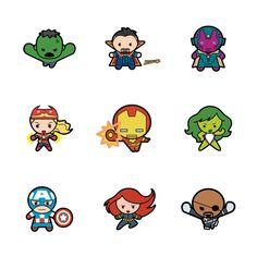 Marvel® Avengers Kawaii Digital Cartridge