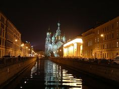 File:Church of the Saviour on the Blood at Night, St. Petersburg, Russia.jpg