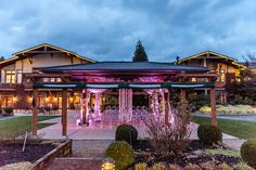 Weddings in Woodinville | Willows Lodge | New Creations Weddings | Affinity Photography #weddingsinwoodinville #wiw16 #eastmeetswest #purplewedding #1000cranes