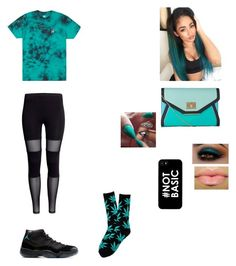 """""""Going to a party"""" by riz08 ❤ liked on Polyvore featuring HUF"""
