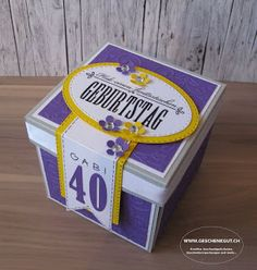 Überraschungsbox Explosionsbox Geschenkgutschein Geldgeschenk Reise Geburtstag Koffer Städtereise Amsterdam Paris Berlin Hamburg