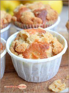 Muffins aux pommes façon Crumble de Mamie Caillou