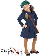World war ii #girls evacuee ww2 book day week #child new fancy #dress costume kid,  View more on the LINK: http://www.zeppy.io/product/gb/2/181076021572/