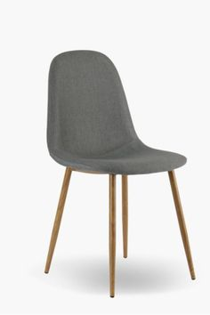 Give your dining room a fresh and funky look with this fabulous retro upholstered chair.This dining chair gives the designer an inspired look for an afford