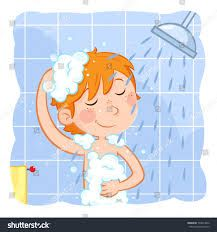 Cute little boy with ginger hair taking a shower - cartoon illustration Cute Little Boys, Take A Shower, Ginger Hair, Mom And Baby, Disney Characters, Fictional Characters, Take That, Doodles, Cartoon