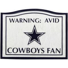 Team Sports America NFL0145-801 Dallas Cowboys NFL Fan Garden by Team Sports America. $24.95