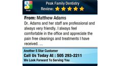 Dr. Adams and her staff are professional