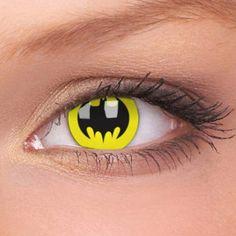 Fancy - Batman Contact Lenses