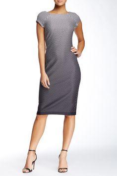 Dot Scuba Dress by ECI on @nordstrom_rack