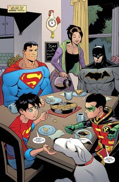 Family Time! [Superman #20]