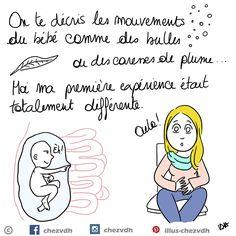 Illustrations sur la grossesse et la maternité http://www.chez-vdh.com